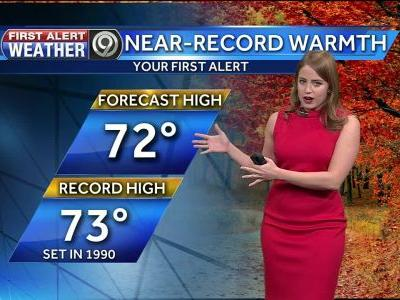 First Alert: Near record warmth on Black Friday
