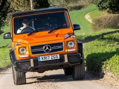 I Never Knew Pure Terror Until I Drove A Mercedes-AMG G63 At Speed