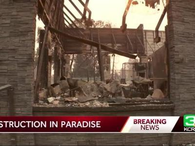California town resembles a war zone after wildfire's destructive path