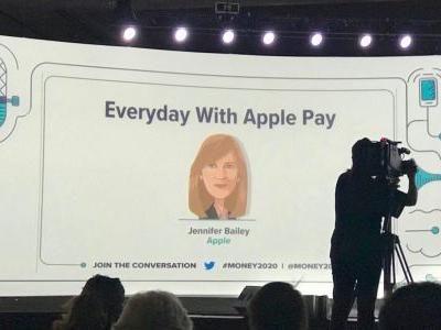 Jennifer Bailey talks Apple Pay: 20 markets, 4000 issuers, Cash coming soon