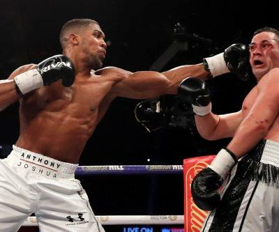 Anthony Joshua wins another belt, promptly calls out Wilder