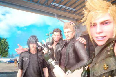 Food and photos: the simple things that connect you to Final Fantasy XV