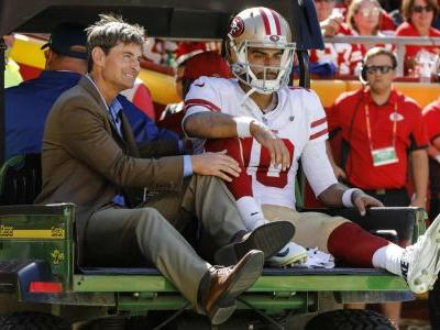 Jimmy Garoppolo injury update: 49ers QB out for season with torn ACL