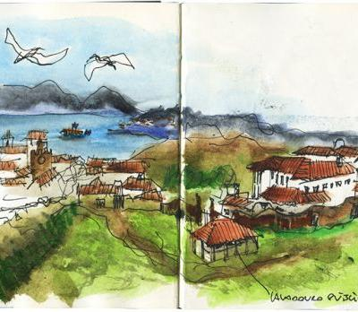 Sketching in Caminha