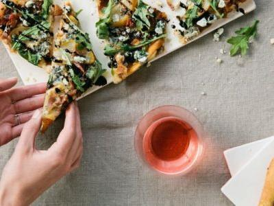Finally, A Vegan Chickpea Pizza That's Easy To Throw Together