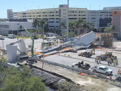 Cracks reported prior to Florida bridge collapse, state officials say