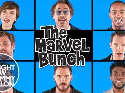 Avengers: Infinity War Cast Channels The Brady Bunch