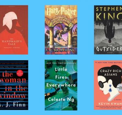 The top 10 best-selling fiction books on Amazon this year - that consequently make great gifts