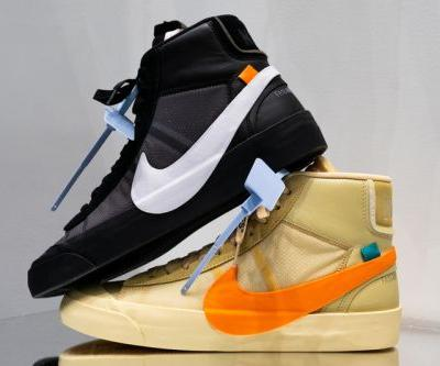 """A Closer Look at the Off-White™ x Nike Blazer """"Spooky Pack"""""""