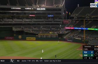 Joey Gallo hits 2nd Home Run of season vs Athletics