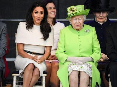 Meghan Markle reportedly doesn't get why she can't wear pants around the Queen