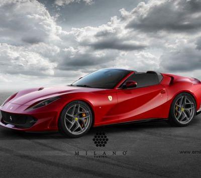 Is A Ferrari 812 Spider / Aperta In The Works?