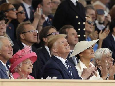 'Thank you': Queen honors D-Day veterans at moving ceremony