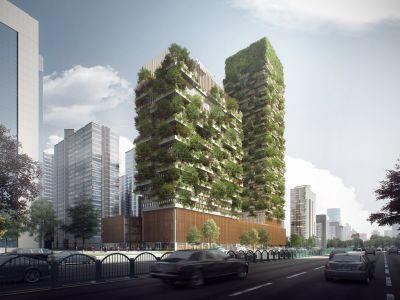 China is getting incredible vertical forests to combat pollution