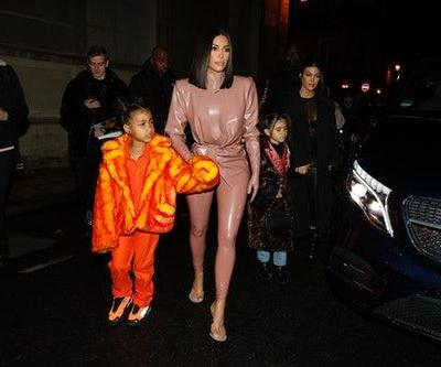 Kim Kardashian Says North West Disses Her House When She's Mad