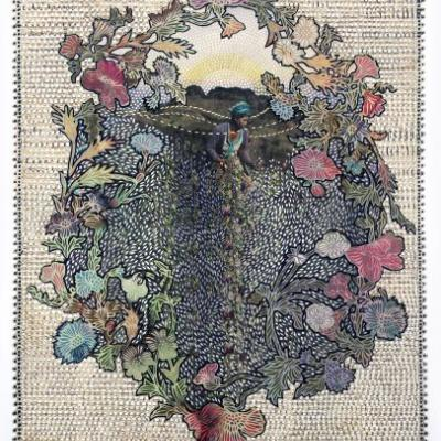 Elaborately Collaged Newspapers by Myriam Dion Transform Current Events into New Visual Narratives