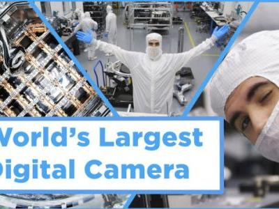 We Visited the World's Largest Digital Camera and Damn