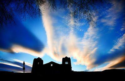 "New Mexico Sky Landscape Art Photography ""Santa Fe Sky"" by Colorado Photographer Kit Hedman"