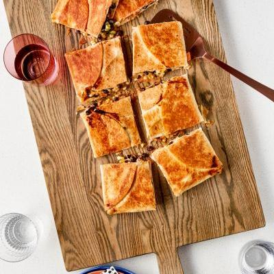 SPONSORED POST: Recipe: Sheet Pan Ranch Quesadillas