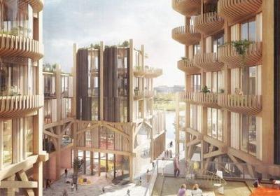 Snøhetta and Heatherwick Design a Timber City for Sidewalk Labs