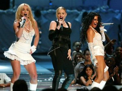 Remember Madonna and Britney Spears' VMAs Kiss? Apparently, Christina Aguilera Felt 'Left Out'