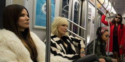 First Look: The 'Ocean's 8' Crew Takes the Subway