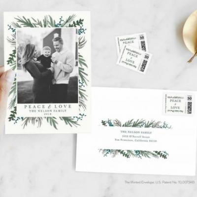 This stationery startup lets you turn personal photographs and designs into custom postage stamps