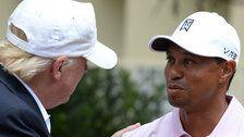 A History Of Tiger Woods' Business Entanglements With Donald Trump