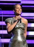 Alicia Keys Wore Rhinestones in Her Baby Hairs at the Grammys, and Yes, I'm Very Into It
