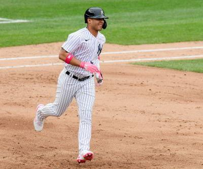 Gleyber Torres finally breaks through with special Mother's Day home run