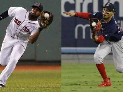 Betts, Bradley Jr. among three Sox players named Gold Glove winners