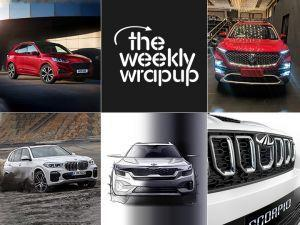 Top 5 Car News Of The Week MG Hector Unveiled BMW X5 Launched And More