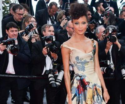 Thandie Newton celebrates black 'Star Wars' characters with gown