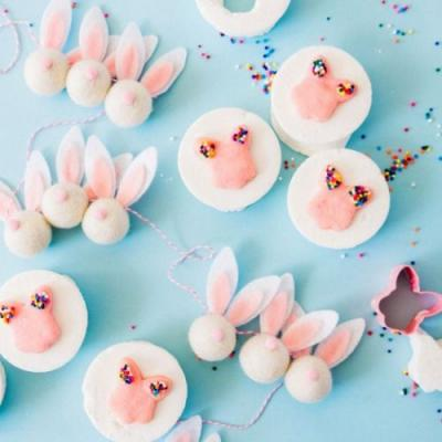 Easter Marshmallows with Sprinkles