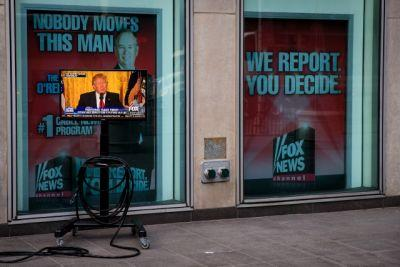 Trump fuels record ratings for Fox News, MSNBC, best 1st quarter in 14 years for CNN