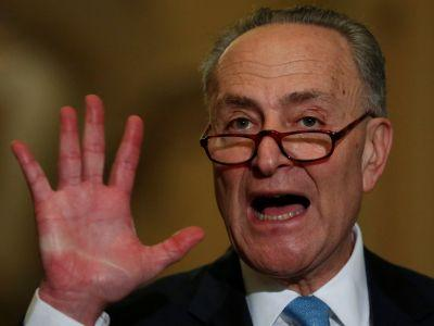 Chuck Schumer blasts Trump's Supreme Court pick, setting up lengthy Senate battle