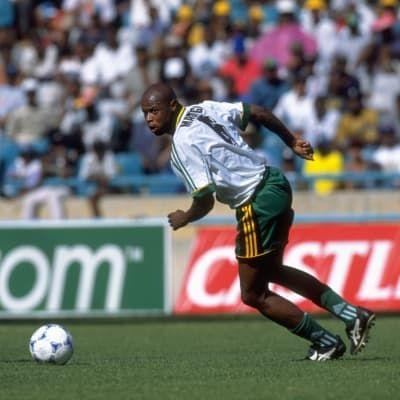 Former South Africa striker Phil Masinga dies aged 49