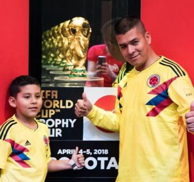 VIDEO: When the World Cup hit Bogota - Will it go back to Colombia on July 15th?