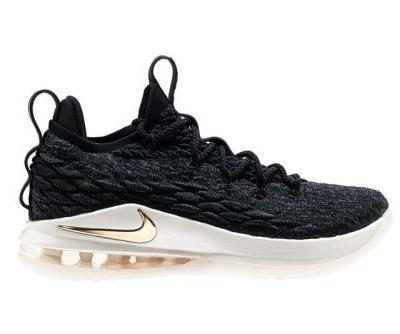 Nike's LeBron 15 Low Dons Black & Gold
