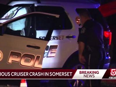 Cruiser involved in crash in Somerset