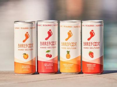 Barefoot To Launch the First Wine-Based Hard Seltzer