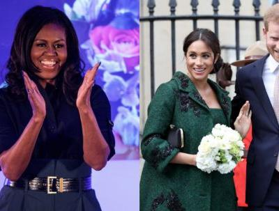 Michelle Obama's Message About Meghan Markle & Prince Harry's New Baby Is Adorable Friend Goals