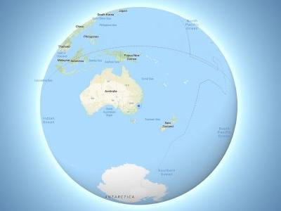 Google Maps on desktop now shows the Earth as a 3D globe