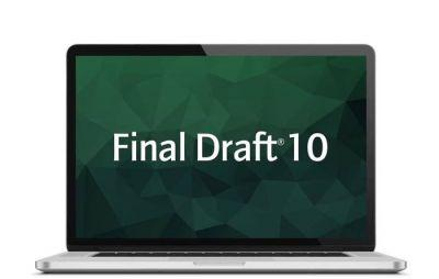 Last Minute Deal: Final Draft 10, Save 50%