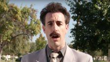 Borat Dupes Donald Trump Supporters: 'I'm A Racist. It Is Nice.'