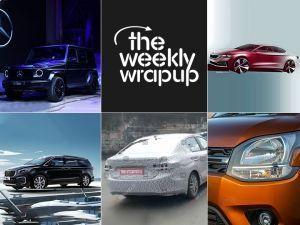 Top 5 Car News Of The Week Mercedes G350d Launched Kias Next Vehicles Confirmed Maruti XL5 Spied And More