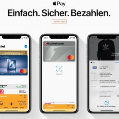 Apple Pay Rolling Out in Germany