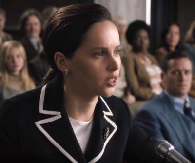 Behold: Felicity Jones as Ruth Bader Ginsburg