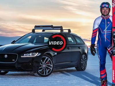 Skier Had A Jag Tow Him To 117mph Breaking The World Record