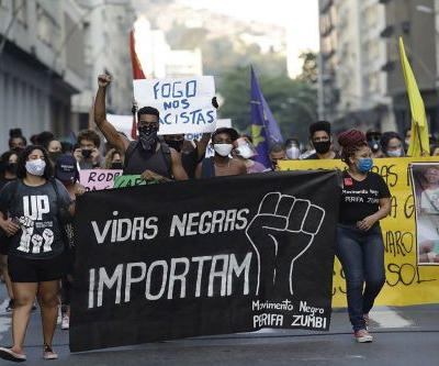 Teen's death stirs Black Lives Matter protests in Brazil